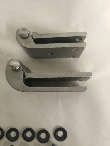 1932 Ford Passenger Door Hinge Set - Stainless Steel