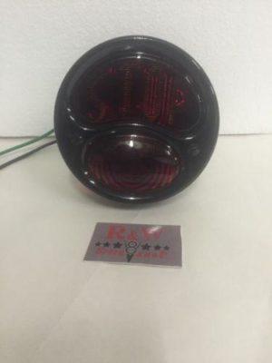 Ford Model A Tail Light - Black Stop Light - 1928-1931