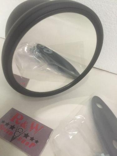 Pair of Bullet Mirrors - Black Side Rearview GT Mirrors