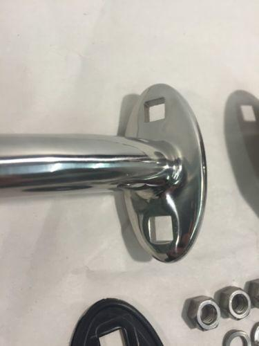 Traditional Style Hot Rod Headlight Stands - Chrome