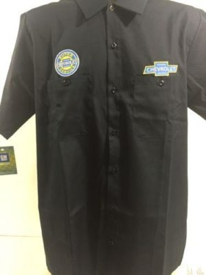 Chevy Mechanic Shirt - Short Sleeve w/ Super Service Logo