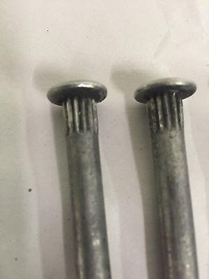 """Stainless Steel Door Hinge Pins - 2.75"""" 1932-52 Ford"""