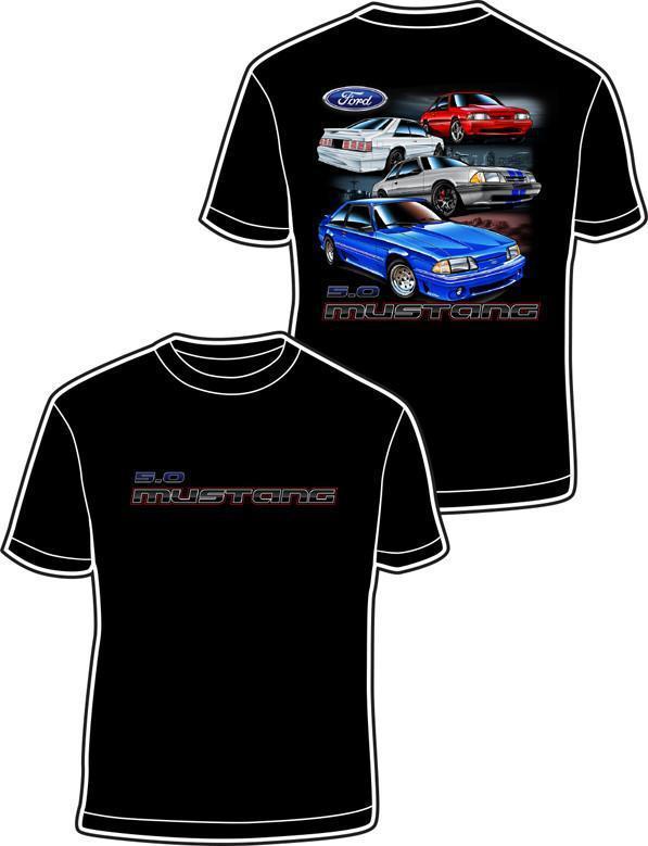 Ford Mustang T Shirt - Fox Body 5.0