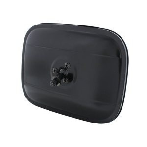 1940-1972 Chevy Truck Side Mirror - Square Head Black