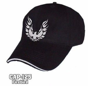 Pontiac Firebird Hat - Liquid Metal Logo