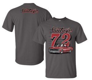 Vintage Chevy C10 T Shirt with 1972 Chevrolet Truck