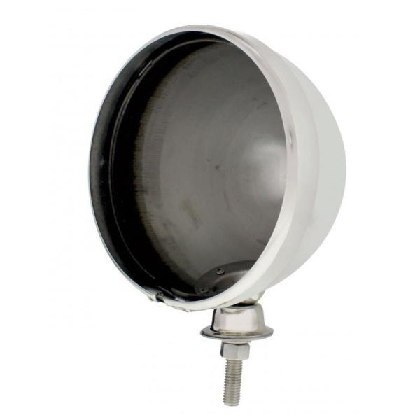 7 Inch Dietz Headlight Buckets - Chrome (Set/2)