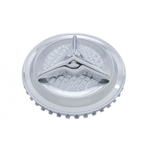 """Fiesta Hubcaps - Universal Chrome Plated 13""""-15"""" (Set of 4)"""