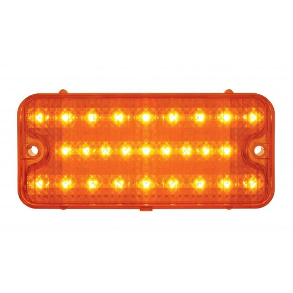 1967-1968 Chevy Truck LED Parking Lights - Amber or Clear Lens