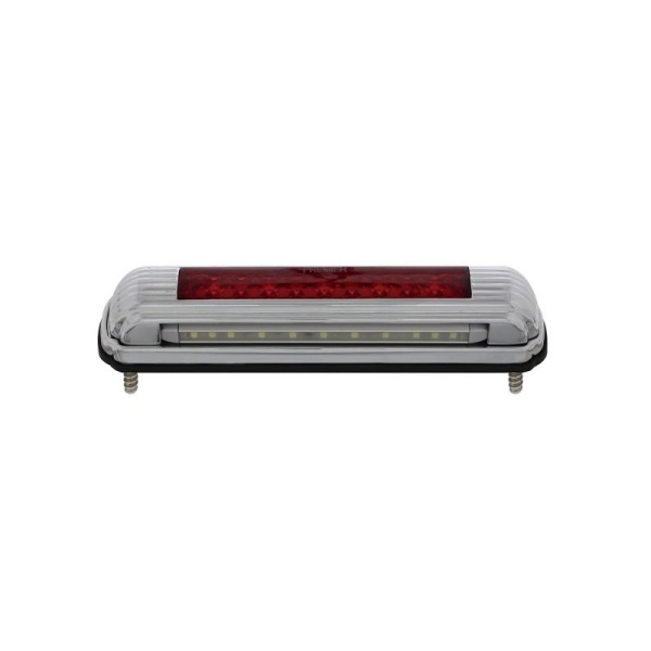 Universal LED 3rd Brake Light / Tail Light - Chrome Art Deco
