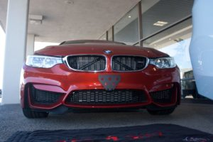 Removable License Plate Bracket for 2015-2018 BMW M4/M3/M2
