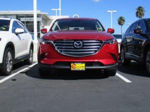 Removable, No Drill License Plate Bracket for 2016-2019 Mazda CX-9