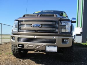 Removable License Plate Bracket for 2015 Ford F-150 FTX