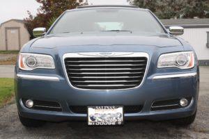 Removable License Plate Bracket for 2011-2014 Chrysler 300