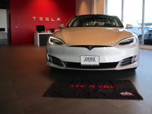 Removable, No Drill License Plate Bracket for 2016-2019 Tesla Model S