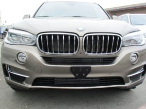Removable License Plate Bracket for 2017-2018 BMW X5 35i (non M sport)
