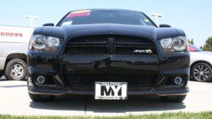 Removable License Plate Bracket for 2011-2014 Super Bee / SRT8