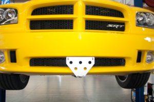 Removable License Plate Bracket for 2006-2010 Dodge Charger Super Bee/ SRT8
