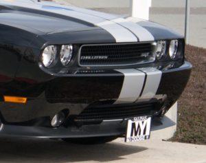Removable License Plate Bracket for 2008-2014 Dodge Challenger