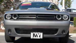 Removable License Plate Bracket for 2015-2018 Dodge Challenger (with Adaptive Cruise)