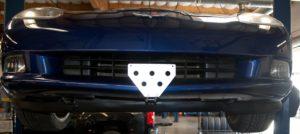 Removable License Plate Bracket for 2005-2013 Chevrolet Corvette