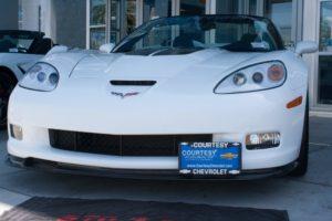Removable, No Drill License Plate Bracket for 2005-2013 Chevrolet Corvette Grand Sport, Z06, ZR1