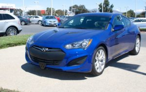 Removable License Plate Bracket for 2013-2016 Hyundai Genesis Coupe