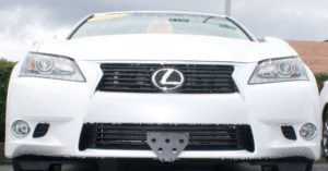 Removable License Plate Bracket for 2013-2014 Lexus GS350