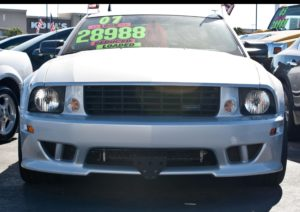 Removable License Plate Bracket for 2005-2009 Ford Mustang Saleen