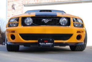 Removable License Plate Bracket for 2007 Ford Mustang Saleen Parnelli Jones