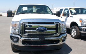 Removable, No Drill License Plate Bracket for 2014 Ford F250/F350 SuperDuty