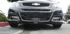 Removable Front License Plate Bracket for 2014-2017 Chevrolet SS