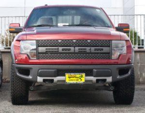 Removable License Plate Bracket for 2010-2014 Ford Raptor
