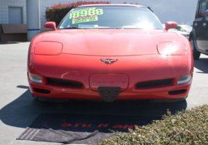 Removable License Plate Bracket for 1997-2004 C5 Corvette