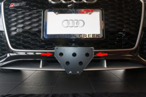 Removable License Plate Bracket for 2014-2016 Audi RS7
