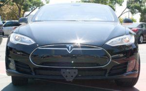 Removable License Plate Bracket for 2012-2015 Tesla Model S