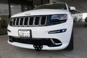 Removable License Plate Bracket for 2012-2016 Jeep Grand Cherokee SRT