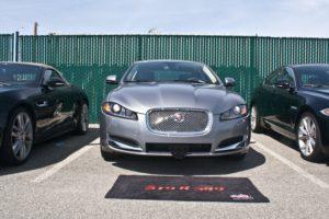 Removable License Plate Bracket for 2012-2015 Jaguar XF Luxury Sedan