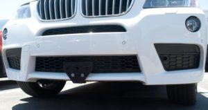 Removable License Plate Bracket for 2010-2017 BMW X3 M Sport