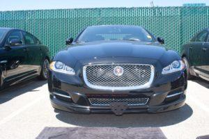 Removable, No Drill License Plate Bracket for 2013-2015 Jaguar XJ