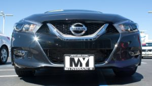 Removable License Plate Bracket for 2016-2018 Nissan Maxima
