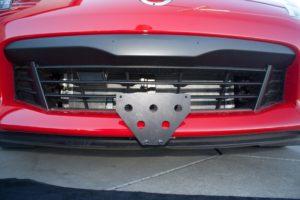 Removable License Plate Bracket for 2016-2018 Nissan 370z