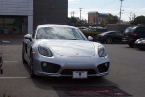 Removable License Plate Bracket for 2014-2016 Porsche Cayman