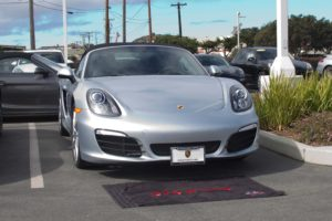 Removable License Plate Bracket for 2014-2016 Porsche Boxster