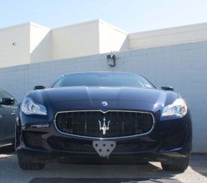 Removable License Plate Bracket for 2012-2017 Maserati Quattroporte