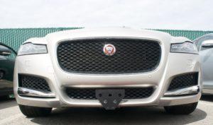 Removable License Plate Bracket for 2016-2017 Jaguar XF & XE