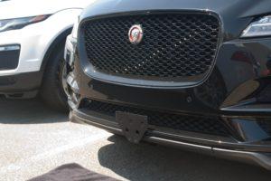 Removable License Plate Bracket for 2017-2019 Jaguar F Pace