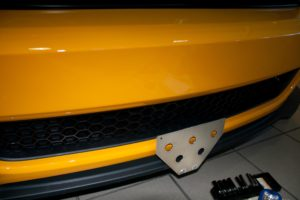 Removable License Plate Bracket for 2013 Ford Mustang Boss 302 & 2013-2014 California Special
