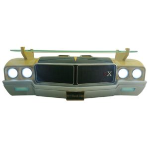 1971 Buick Skylark GSX Wall Shelf - Gold w/ Black and LED Headlights