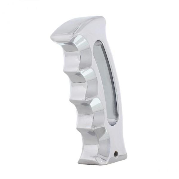 Pistol Grip Shift Knob - Chrome Slot